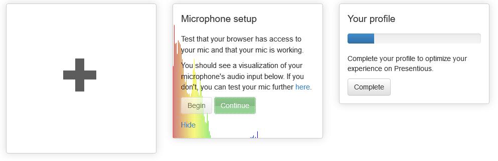 Capture d'écran : Micro