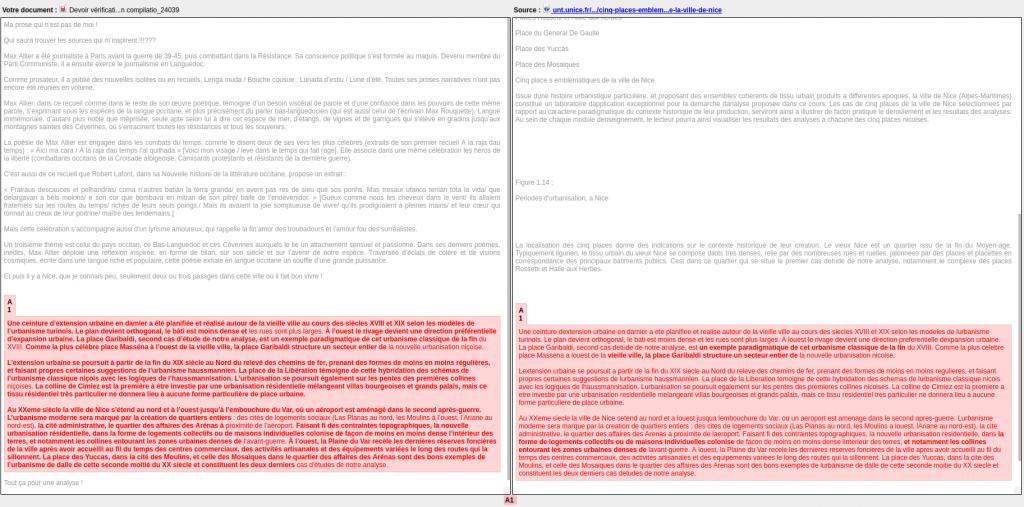 Exemple de rapport Compilatio